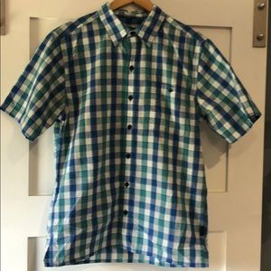 Patagonia Men's Short Sleeve Button Down woven